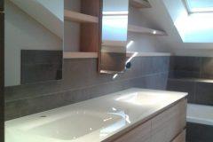Agencement de salle de bains sur mesure a Annecy
