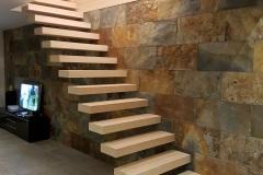 Escalier contemporain Annecy