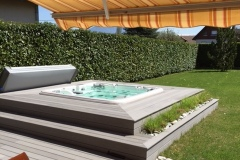 Fabricant de terrasses jardin piscine bois Annecy
