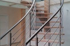 Fabricant escalier contemporain sur mesure Annecy