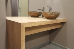 Fabrication mobilier salle de bains Annecy