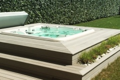Fabrication de terrasse de piscine a Annecy